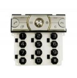 Klávesnice Sony Ericsson K660i Silver / stříbrná, Originál