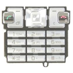 Klávesnice Sony Ericsson T700 Silver / stříbrná, Originál