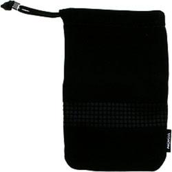Kožené pouzdro Nokia univerzální 130x85mm Black / černé, Originá
