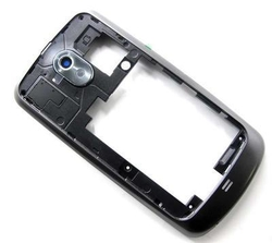 Střední kryt Samsung i9250 Galaxy Nexus Black / černý, Originál