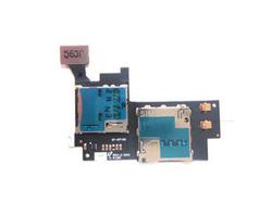 Čtečka SIM, SD karty Samsung N7100 Galaxy Note II, Originál