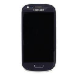 Přední kryt Samsung i8190 Galaxy S3 mini Grey / šedý + LCD + dot