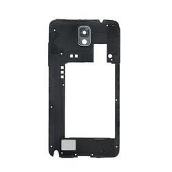 Střední kryt Samsung N9005 Galaxy Note 3 Black / černý, Originál