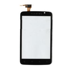 Dotyková deska Alcatel One Touch 991D Black / černá, Originál