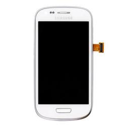 Přední kryt Samsung i8200 Galaxy S3 mini VE White / bílý + LCD +