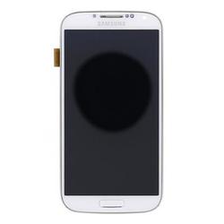 Přední kryt Samsung i9506 Galaxy S4 LTE White / bílý + LCD + dot