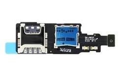 Čtečka microSD + SIM karty Samsung G800 Galaxy S5 mini, Originál