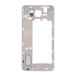Střední kryt Samsung G850 Galaxy Alpha Silver / stříbrný, Origin