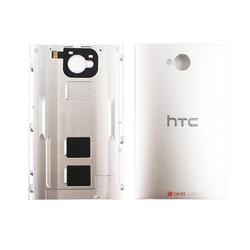 Zadní kryt HTC One Dual SIM, 802W Silver / stříbrný, Originál