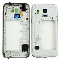 Střední kryt Samsung G800H Galaxy S5 mini Duos White / bílý, Ori