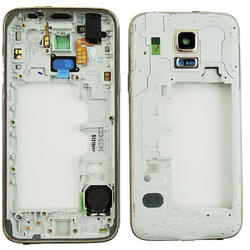 Střední kryt Samsung G800H Galaxy S5 mini Duos Gold / zlatý, Ori