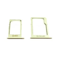 Držák microSD Samsung A300F, A500F, A700F Gold / zlatý, Originál