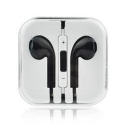 Handsfree Apple iPhone 4, 4S, 5, 5S, 6, 6 Plus Black White / čer