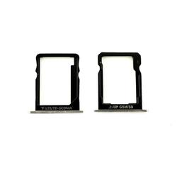 Držák SIM + microSD Huawei Ascend P7 White / bílý, Originál