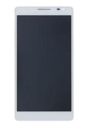 Přední kryt Huawei Ascend P1 White / bílý + LCD + dotyková deska