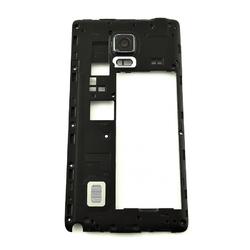 Střední kryt Samsung N915 Galaxy Note Edge Black / černý, Origin