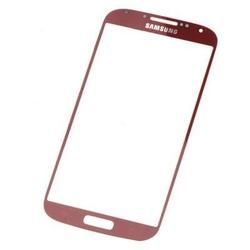 Servisní sklíčko Samsung i9505 Galaxy S4 Red / červené, Originál