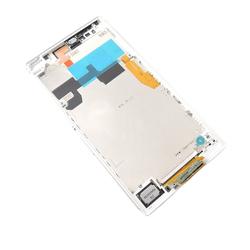 Přední kryt Sony Xperia Z Ultra C6802, C6806, C6833 bílý + LCD +