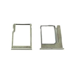 Držák microSD + SIM HTC One mini 2, M8 Silver / stříbrný, Origin